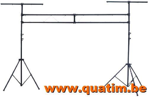IBIZA light SLB001 Lichtbrug 3 meter + 2 T-bar