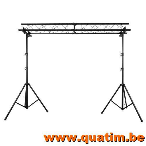 BeamZ Lichtbrug met trussbalk 3mx4m 100kg