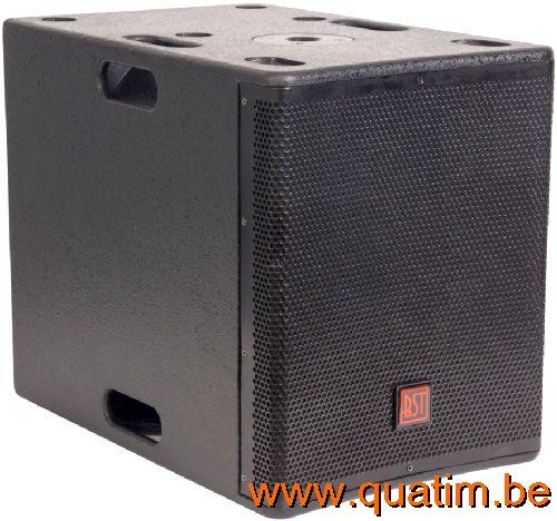 IBIZA Sound CUBE204 2.2 actief systeem 1200W USB/Bluetooth