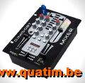 IBIZA Sound AMP600 Power Amplifier 2 x 480W